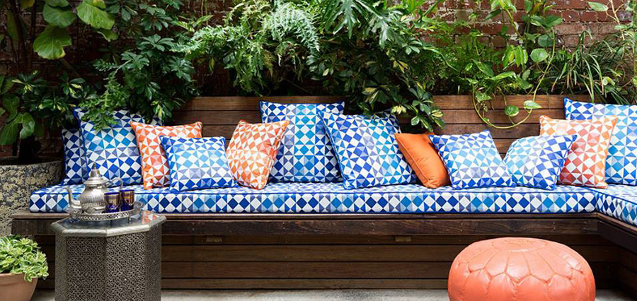 moroccan style outdoor fabric daybed